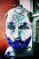 Poesidon's Head (pamelagilpin19811) Tags: kentucky louisville streetart art street downtown city poesidonshead statue