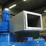 Geluiddemper voor een centrifugaal ventilator