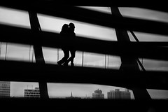 ...thecouple... (*ines_maria) Tags: berlin germany reichstag architecture silhouette city people street streephotography urban urbanart urbanexploration couple love travel building downtown light reflection backlit person monochrome blackandwhite bw bn panasonicdmcgx8