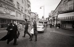 Mea Shearim (Valentine Kleyner) Tags: leica voigtlander heliar orwo jerusalem meashearim israel bw film