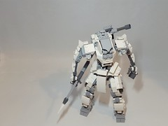still finish the leg and foot (ruslan_p88) Tags: lego legomoc legomech mech mecha mechwars battle suit moc robot brick