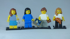 Brick Yourself Custom Lego Figure Old Friends