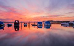Sundown-at-Swansea_DSC6985 (Mel Gray) Tags: swansea newcastle newsouthwales sunset australiansunset australia boats