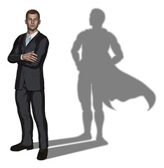 Businessman superhero concept (brunogomes14) Tags: arms business businessman businessperson cape champion concept conceptual confidence confident consultancy consultant contractor human problem resources shadow silhouette solutions solver best corporate crossed folded hands handsom handsome hansom hansome illustration vector hero leader male man outline person professional standing strength strong success successful super superhero suit young executive rescue save unitedkingdomofgreatbritainandnorthernireland