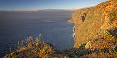 """Viewpoint """"Ponta do Pargo"""" (memories-in-motion) Tags: west madeira pontadopargo klippen rocks red sunset sea water atlantic ocean clouds waves warm panorama travel europe steil danger wind air horizon landscape seascape canoneos5dmarkiii zeissdistagont2821ze distagon zeiss sky"""