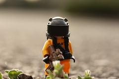 Panic! At the Wasteland (lego slayer) Tags: pop punk lego wasteland fallout legos hazmat panic disco fall out boy blink 182