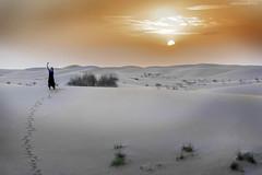 Sunset selfie (Jodi Newell) Tags: bobbie bobo canon desert dubai dunes jodinewell jodisjourneysphotosgmailcom selfie sunset sunsetsafari tracks