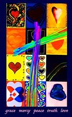 resurrection (Leonard J Matthews) Tags: easter passover christianity faith belief believe resurrection grace mercy peace truth love cross heart mythoto provoke colour colourful triumph