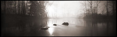 Ondurama Daybreak # 3 (DRCPhoto) Tags: ondu ondurama 6x17 pinhole lenslessphotography panoramic kodakbw400cn cheatriver westvirginia