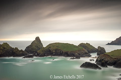 Kyance Cove (James Etchells) Tags: kyance cove lizard peninsula cornwall kernow south west long exposures exposure lee filters nikon national trust sea ocean water light dark seascapes seascape landscapes landscape rocks clouds sky photography colour color motion movement
