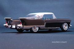 1957 Cadillac ELDORADO BROUGHAM 2 (DOLPHIN☆CRAFT) Tags: brougham eldorado 1957 cadillac キャデラック エルドラド プラモデル