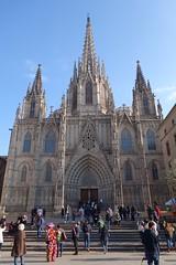 La Catedral de la Santa Cruz y Santa Eulalia (moscouvite) Tags: heleneantonuk espagne barcelone catalogne voyage sonydscrx100m2