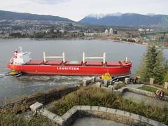 IMG_7534 (vancouverbyte) Tags: vancouver vancouverbc vancouvercity prospectpoint bulkcarrier italianbulker