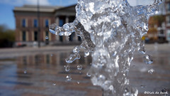 fontein wilhelminaplein (Dirk de Bood) Tags: fountain wilhelminaplein spring leeuwarden source fontein