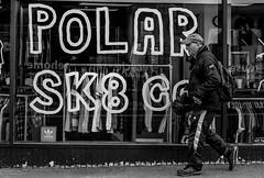 2017_103 (Chilanga Cement) Tags: fuji fujix100t fujix100f x100t x100s x100 x100f bw blackandwhite window sk8 polar monochrome man street streetphotography walking preston prestonstreetphotography pavement sidewalk clothes