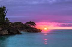 A Little Piece of Paradise (JohnK ARW) Tags: sonynex7 variosonnartdt35451680 johnklander sunrise water trees reflections cayolevantado dominicanrepublic island caribbean landscape zeiss