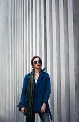 Emilia (mazur.klaudia) Tags: fashion girl woman model photomodel sunglasses wall straps street city architecture canon 50mm beautiful outfit