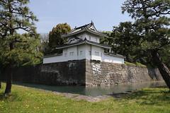 World heritage site Nijyo Castle (yukky89_yamashita) Tags: 二条城 京都 castle moat kyoto japan spring nijyocastle 世界遺産 world heritage 南西隅櫓