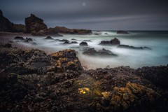 Sleeping Warriors (Augmented Reality Images (Getty Contributor)) Tags: bigstopper canon cliffs clouds coastline colours landscape leefilters longexposure morayfirth portknockie rocks scotland water waves