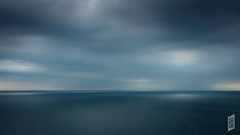 Looking out to the curve of the Earth (Corbicus Maximus) Tags: sea sky clouds english channel blue seascape dramatic horizon dorest nikon d7200 lightroom uk earth planet