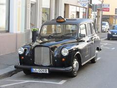 London Taxi LTI FX4 X in Lrrach (D) (v8dub) Tags: auto old london classic car austin germany deutschland automobile taxi 4 automotive voiture oldtimer oldcar fx lrrach allemagne collector wagen pkw klassik lti badewrtenberg