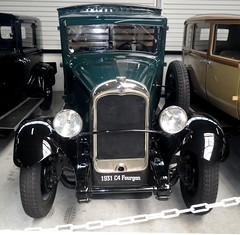 Citroen C4 fourgon 500Kg 1931 (gueguette80 ... non voyant pour une dure indte) Tags: old cars citroen autos avril conservatoire 2014 aulnay anciennes caisses franaises carrees