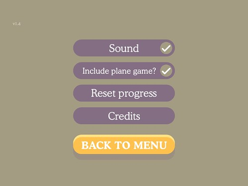 Mobile games Pause Menu: screenshots, UI