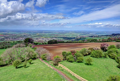 View from Broadway Tower (Ian Gedge) Tags: uk england tower landscape britain broadway cotswolds worcestershire folly
