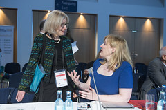 Susan Kurland and Lisa Raitt in discussion