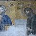 Christ and John, Deësis mosaic, Hagia Sophia