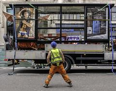 Aussie Bum (stevedexteruk) Tags: street bus london advertising pants underwear australian bum oxford advert mens shorts aussie shelter builder aussiebum 2014