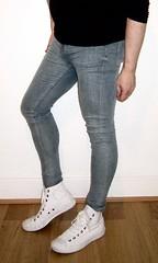 Super Spray III (Scott Martin.) Tags: gay jeans converse tight skintight sprayon skintightjeans superspray
