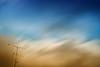 In The Sky (SANDIE BESSO) Tags: longexposure blue sky cloud art composition gold golden or bleu minimalism antenne antenna minimaliste darklong nd09 artlibre sandiebesso bigstopper sandiebessophotography littlestopper