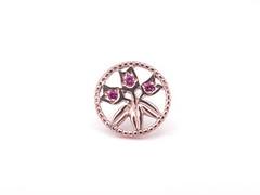 チューリップ・モチーフのブローチ Ruby brooch (jewelrycraft.kokura) Tags: brooch ruby チューリップ k18 ブローチ ルビー ピンクゴールド ピンブローチ