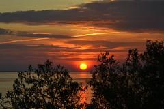 Really Nice (Tobyotter) Tags: sunset virginia jamesriver newportnews