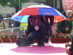Sky shower (McArdle's5) Tags: sky sports rain belfast northernireland umbrellas giro belfastcityhall giroditalia belfastcitycentre belfastcitycouncil belfastparks belfastphotography