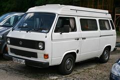 motorhome campervan volkswagent3 e979byj