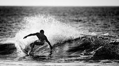 North Shore surf (fotografandreaswinter) Tags: blackandwhite bw contrast turn canon hawaii surf oahu surfer wave surfing 300mm northshore surfboard pipeline 1dx surferphotos
