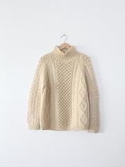 Aranstyled wool turtleneck (Mytwist) Tags: wool fetish sweater knitting handknit jumper turtleneck knitted pullover handknitted handgestrickt 86vintage86 aranstyled