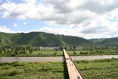 China DPRK Border at Tumen 1