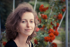 Lyuda (Oleksii Leonov) Tags: portrait girl 50mm ukraine kyiv a700 lyuda sal50f14 α700 dslra700 sonyalphadslra700