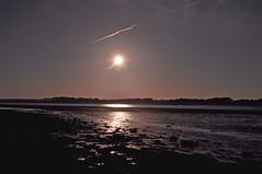 Sunset above Menai Strait. (ohefin) Tags: above sunset sky water beauty wales owen menai strait gwynedd hefin