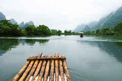Rafting in Yulong River (chylle) Tags: china countryside guilin yangshuo karst yulongriver canon7d canon1635f28liiusm