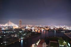 Goodnight Bangkok (sawitac) Tags: city light night bangkok siriraj