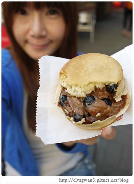台南-南方公園-美食廣場-脆皮紅豆餅-創意多口味-8