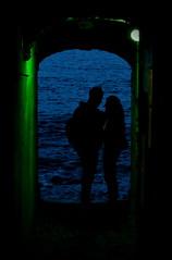 [ Nella trappola della Melusina - Into Melusine's trap ] DSC_1192.4.jinkoll (jinkoll) Tags: blue sea love night pair tunnel cave mermaid scilla cavern siren calabria melusine chianalea