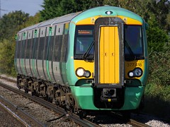 377313, Portchester, September 22nd 2009 (Southsea_Matt) Tags: southernrailway portchester class377 377313