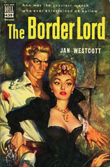 Dell Books 439 - Jan Westcott - The Border Lord (swallace99) Tags: fiction vintage scotland paperback dell historical