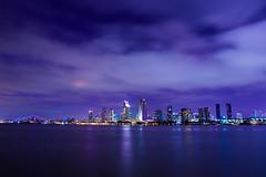 San Diego Skyline (Marielle B-R) Tags: california ca city sky skyline clouds san diego coronado marielle reiersgard