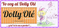 I'm attending the Blythecon Dolly Olé